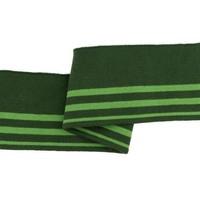 Cuff - Groen gestreept