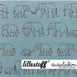 Lillestoff Olifantenparade - tricot