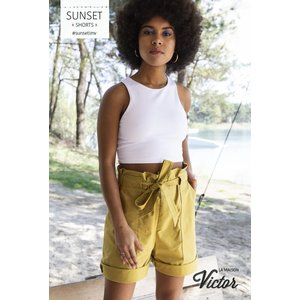 La Maison Victor - Canvas - Sunset Shorts (La Maison Victor)