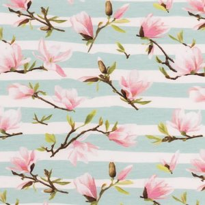 Tricot - Painted Stripe Flower