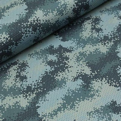 Megan Blue Fabrics Camouflage triangle - tricot