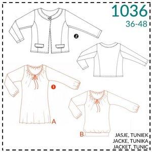 It's a fits - 1036 - patroon Jasje, tuniek en bloesje