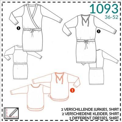 it's a fits Jurk/damesblouse 1093 - It's a fits