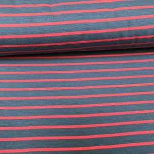 Froy & Dind Stripes Blue/Red - Tricot - Froy & Dind