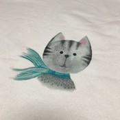 Cat - Tricotpaneel