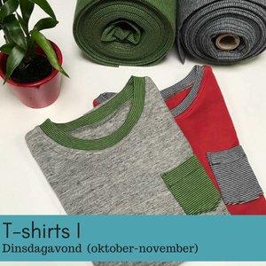 Workshopreeks t-shirts   (dinsdagavond oktober-november)