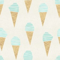 About Blue Fabrics Ice Cream - French terry - About blue fabrics
