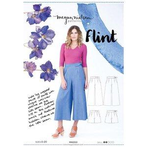 Flint - Wijde broek patroon