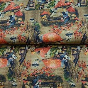 Stenzo - Onder de paddestoel - Digital print - Tricot