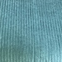 Hilco Corduroy - licht petrol - ribfluweel
