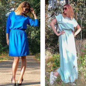 Lux jurk en jumpsuit voor dames - patroon
