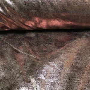 Sheepskin met gouden folie