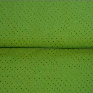 Dots groen - tricot