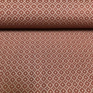 Ornamento - Roest - Jacquard