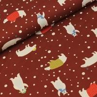 Megan Blue Fabrics - Polar Bears - Tricot