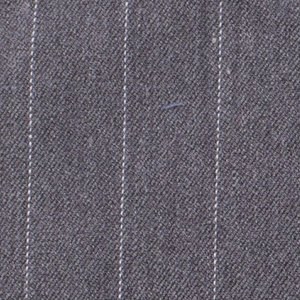 Stretch gabardine - Pinstripe Big - Grijs
