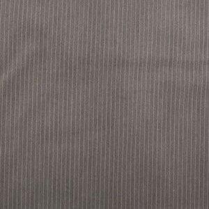 Stretch Gabardine - Pinstripe small - Lichtgrijs