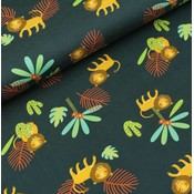 Megan Blue Fabrics Little Lion Man - Tricot