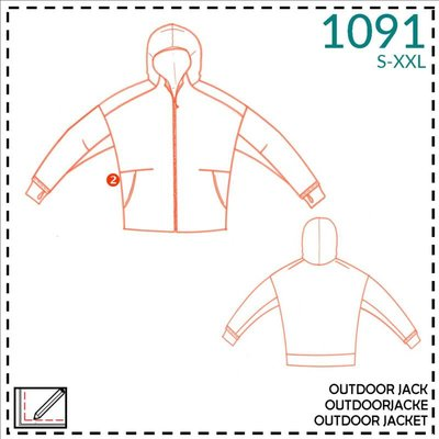 It's a fits - 1091 Outdoor vest  Adults  - patroon