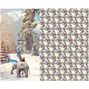 Wintertime - Sweaterpaneel