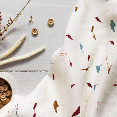 Atelier Brunette Tabby Shell - viscose - Atelier Brunette