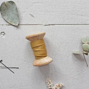 Atelier Brunette - Biais Crêpe Atelier Brunette Mustard