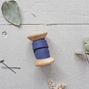 Biais Crêpe Atelier Brunette Kobalt