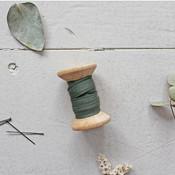 Biais Crêpe Atelier Brunette Ceder Green