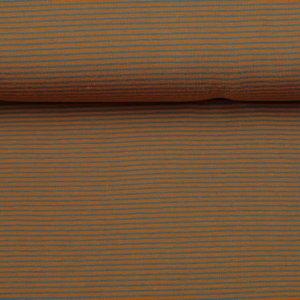 Stenzo Streepjes - oranje/grijs - tricot