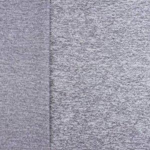 Gebreide fleece - lichtgrijs
