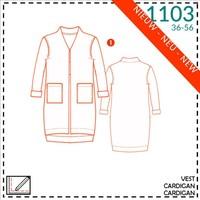 It's a fits - 1103 vest - patroon