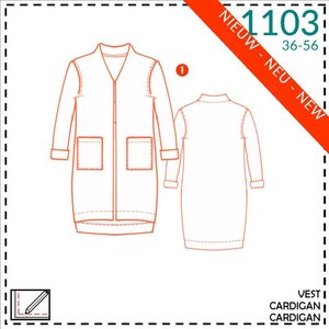 It's a fits - 1103 vest - patroon
