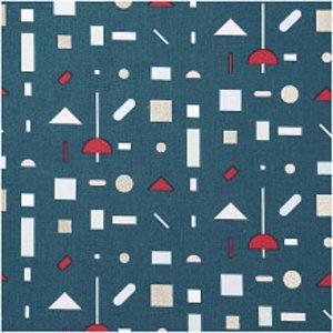 Rico Design - Grafico - Dennengroen - Katoen