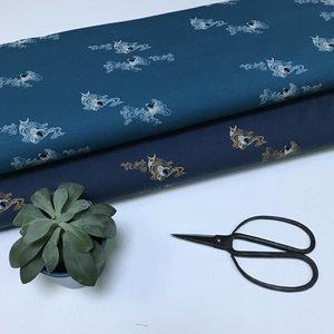 Koi - marineblauw - Tricot