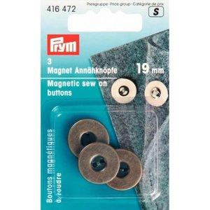 Prym - Magnetische knopen om aan te naaien - Brons
