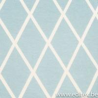 Eva Mouton - Squares blauw - Sweater