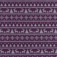God jul - bordeaux - tricot