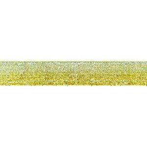 Glitterband - goud-zilver