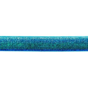 Glitterband - groen-kobalt