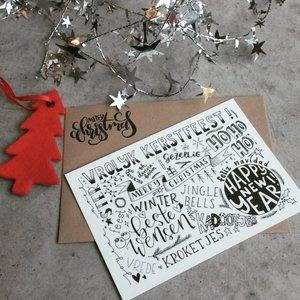 Kaartje - Kerst en Nieuwjaar
