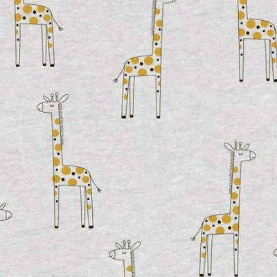 Giraffe - goud glitter - Tricot