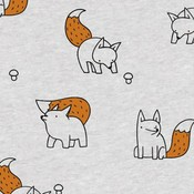 Foxes - Brons glitter - Tricot