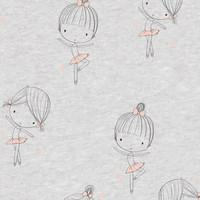 Ballerina - pink foil - Tricot