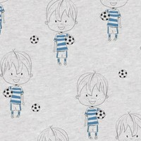 Football - blue foil - Tricot