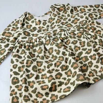 Stenzo - Luipaard zachtgeel - tricot