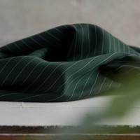 Meet Milk - Tencel - Pin stripe - Deep green