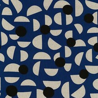 Kokka - Stencil Blue - Canvas