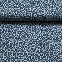 Leopard lichtblauw - Tricot