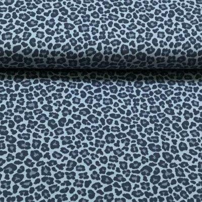 Luipaard lichtblauw - Tricot