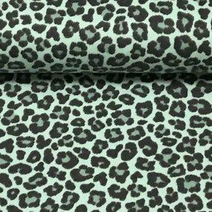 Luipaard zachtgroen - Tricot